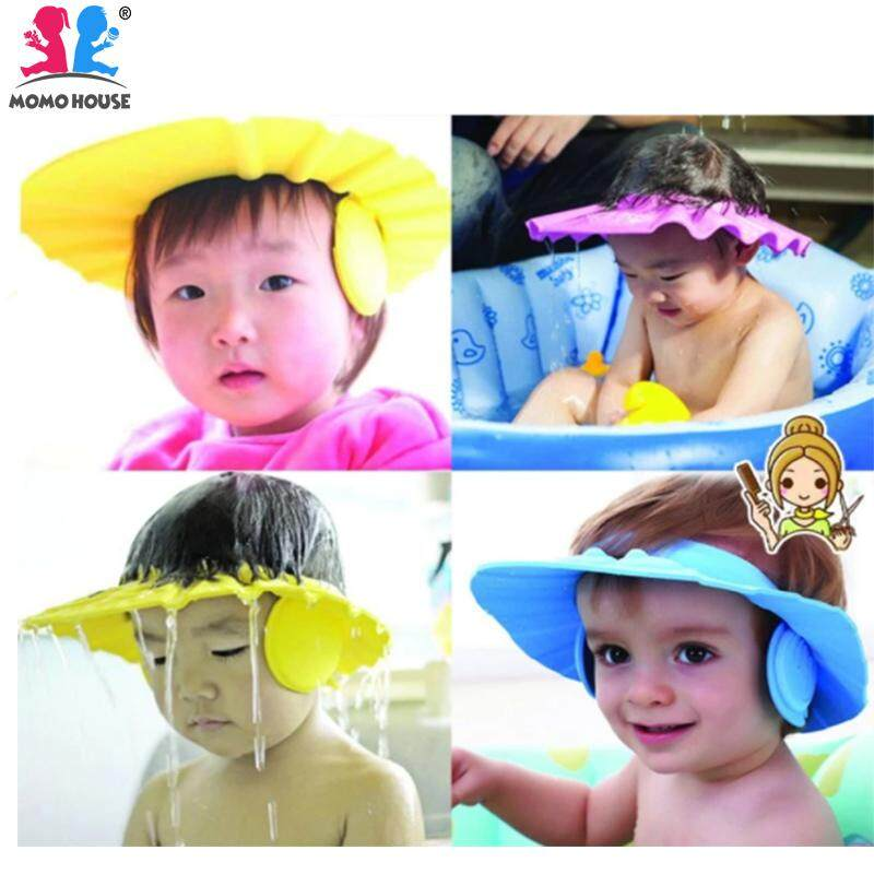 Momo House Adjustable Baby Shower Cap (blue) By Momo House.