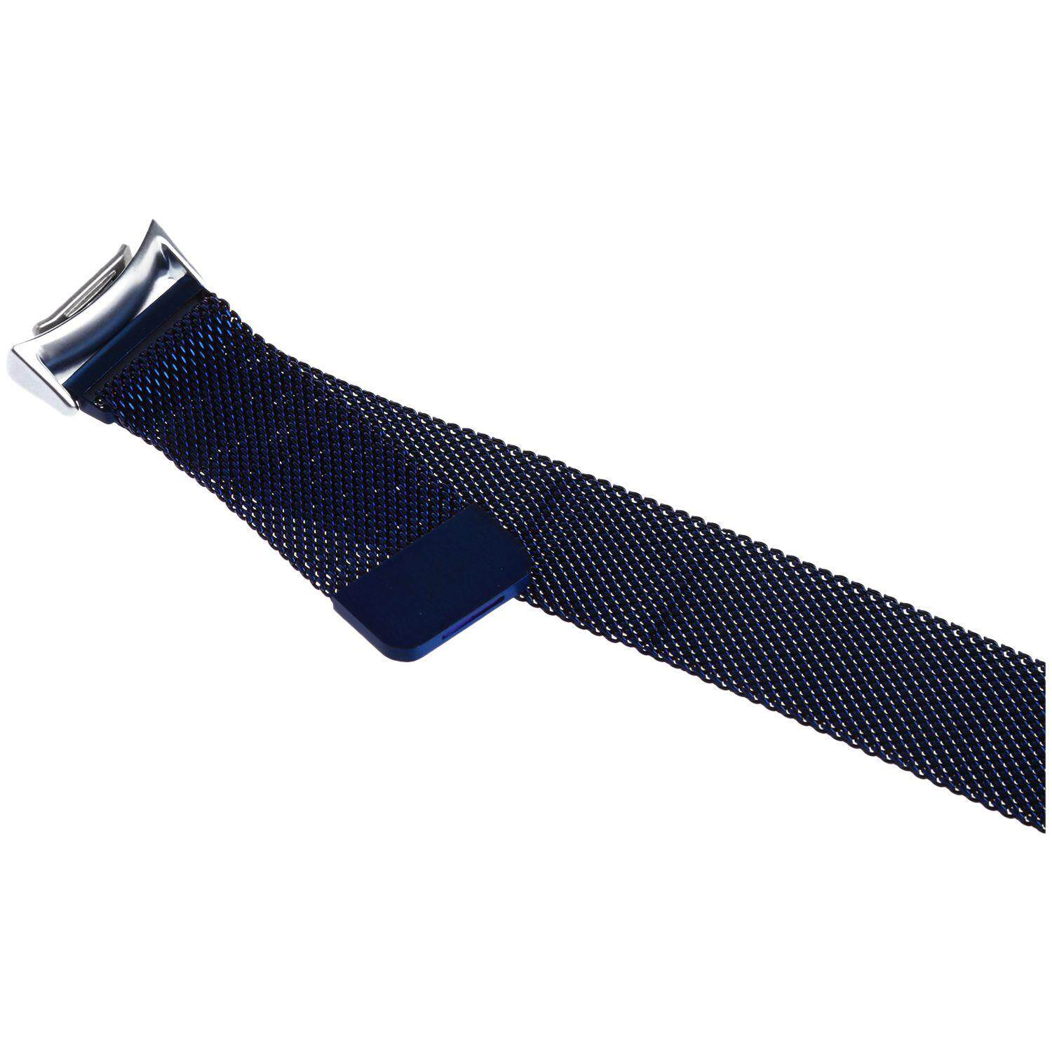 Magnetic Stainless Steel Watch Band Strap + Connector For Samsung Gear S2 RM-720  Blue Malaysia