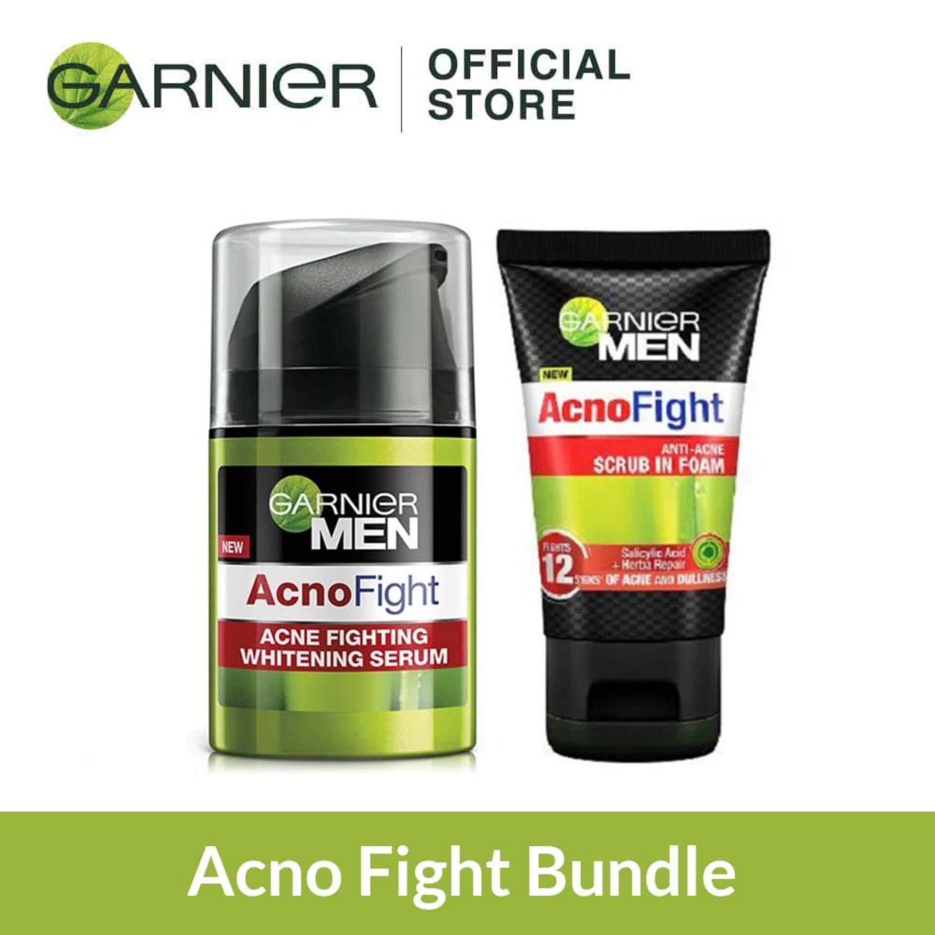 Garnier Men Acno Fight Bundle By Garnier Malaysia.