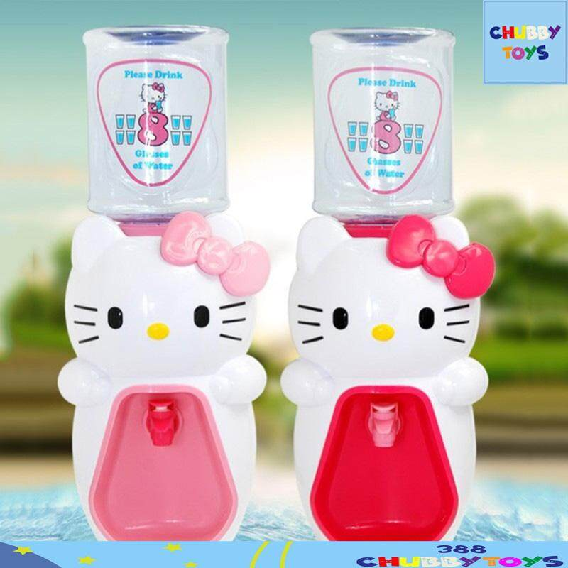 【dark Pink】hello Kitty 2000ml Water Dispenser Cartoon 8 Cup Water Drinking Machine By 388 Chubbytoys.