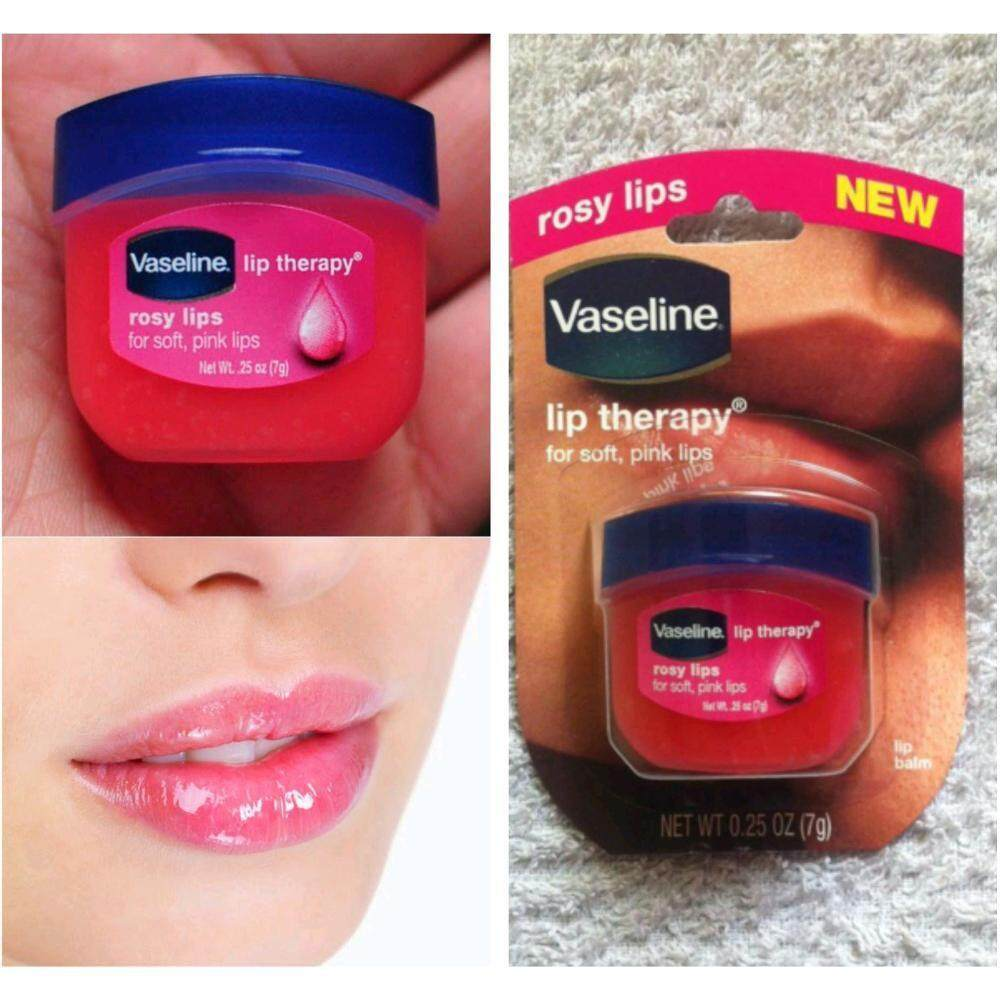 Vaseline Lip Therapy Rosy Lips With Free Gift By Naufal Creation.