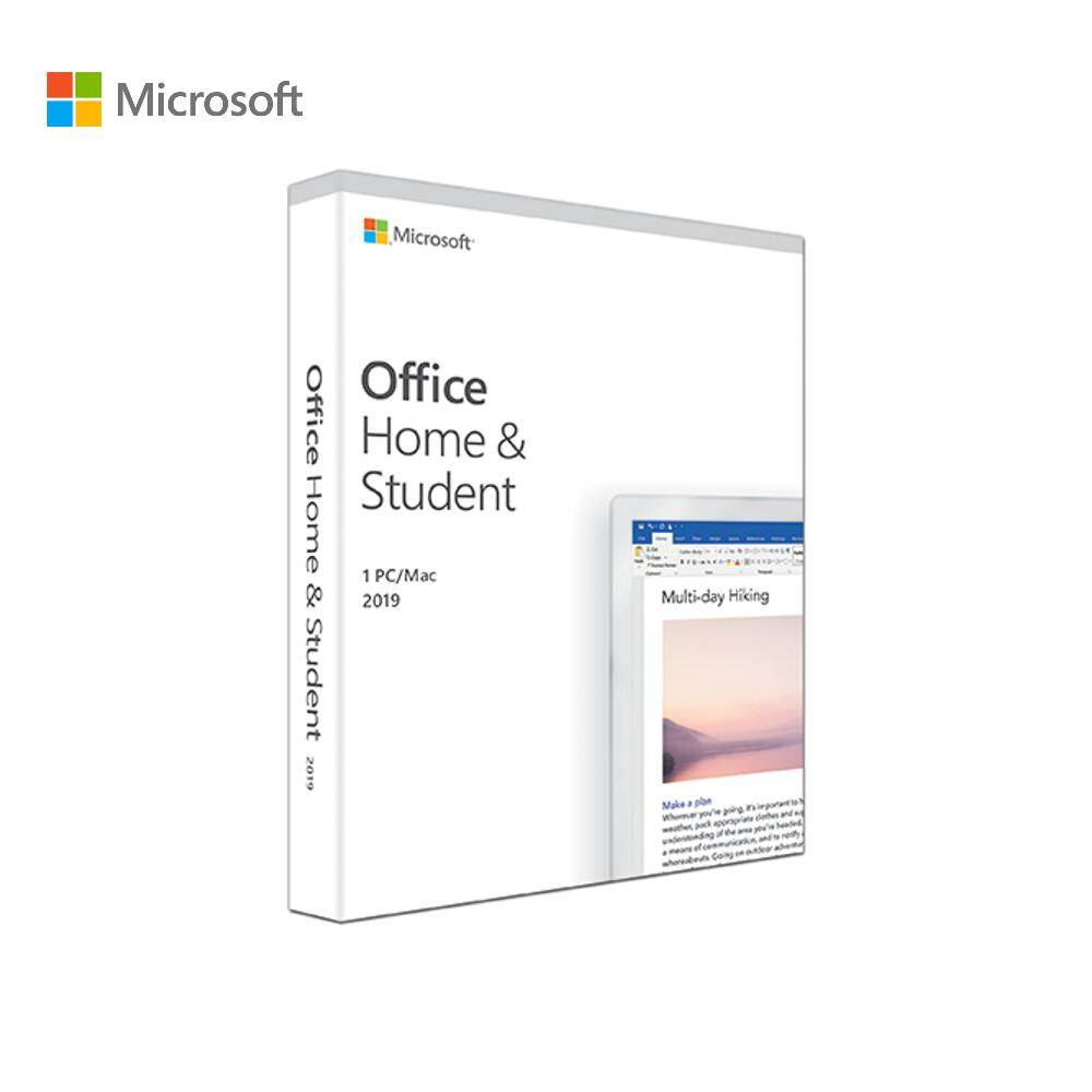 Microsoft Office Home & Student 2019 For 1 Pc/mac (retail Pack) By Microsoft Official Store.