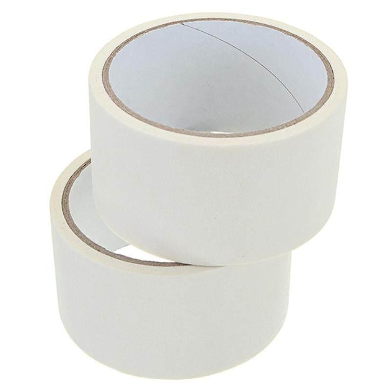 2PCS 12m*45mm Masking Tape White Strong Viscosity Adhesive Tool For 3D Printer
