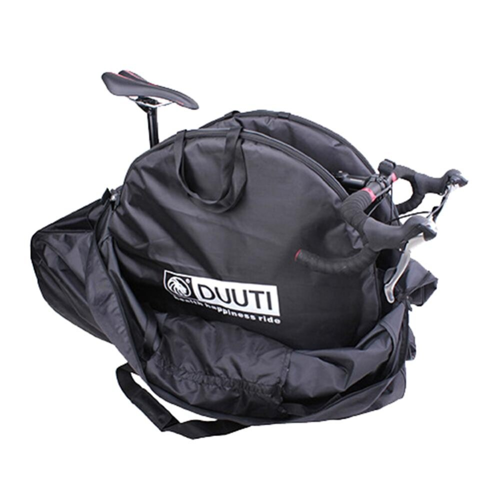 Mountain Road Bike Mtb Wheel Bag Wheelset Bag Transport Pouch Carrier Black By Highfly365.