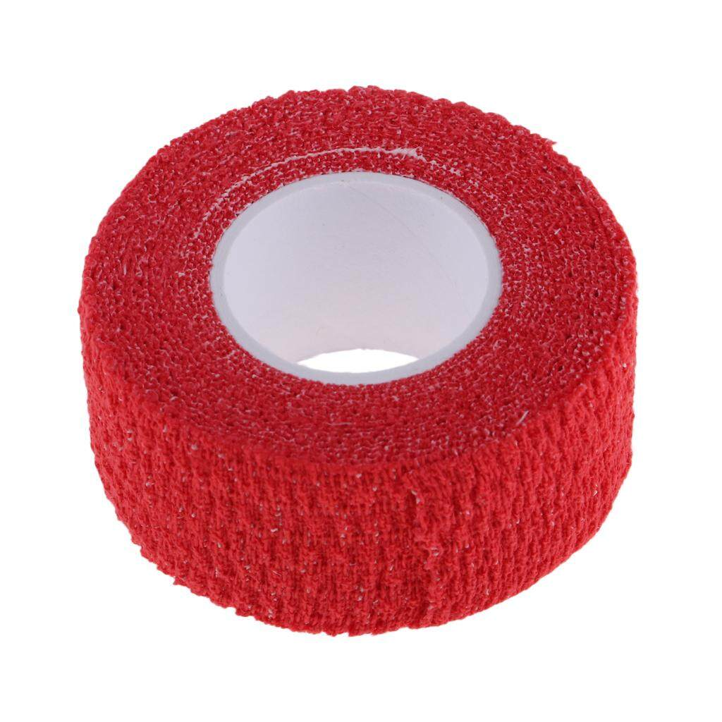 Miracle Shining Anti-Skid Adhesive Golf Sport Golfer Finger Wrap Grip Compression Tape Red By Miracle Shining.