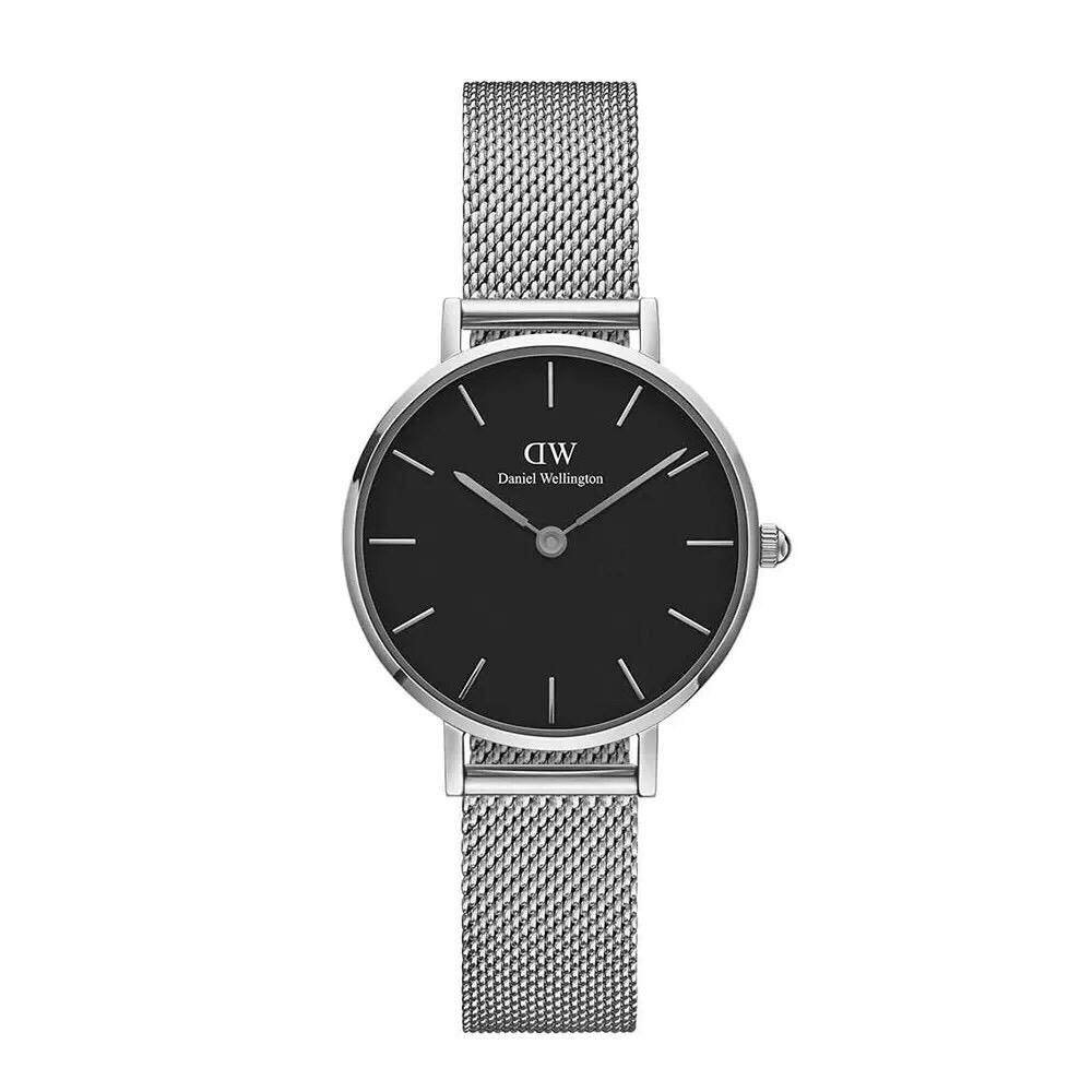 [CLEARANCE YEAR END 12.12] FASHION TRENDY WATCH CLASSIC SILVER/BLACK STAINLESS STEEL WATCH Malaysia