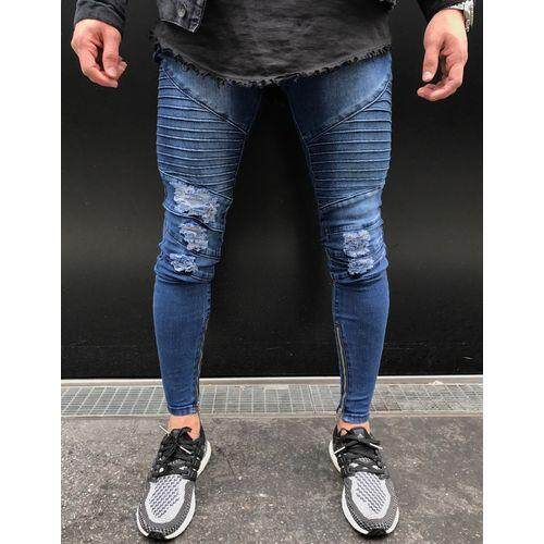 Hot Sell Men Designer Jeans Black Jeans Men Casual Male Jean Skinny Motorcycle High Quality Denim Pants-1852 By Letonwen.