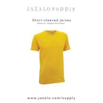 Semak Produk Plain Short Sleeved Roundneck Microfiber Adult Jersey T Shirt Baju Jersi Kosong Lengan Pendek Dewasa Shop Men Sports Jerseys