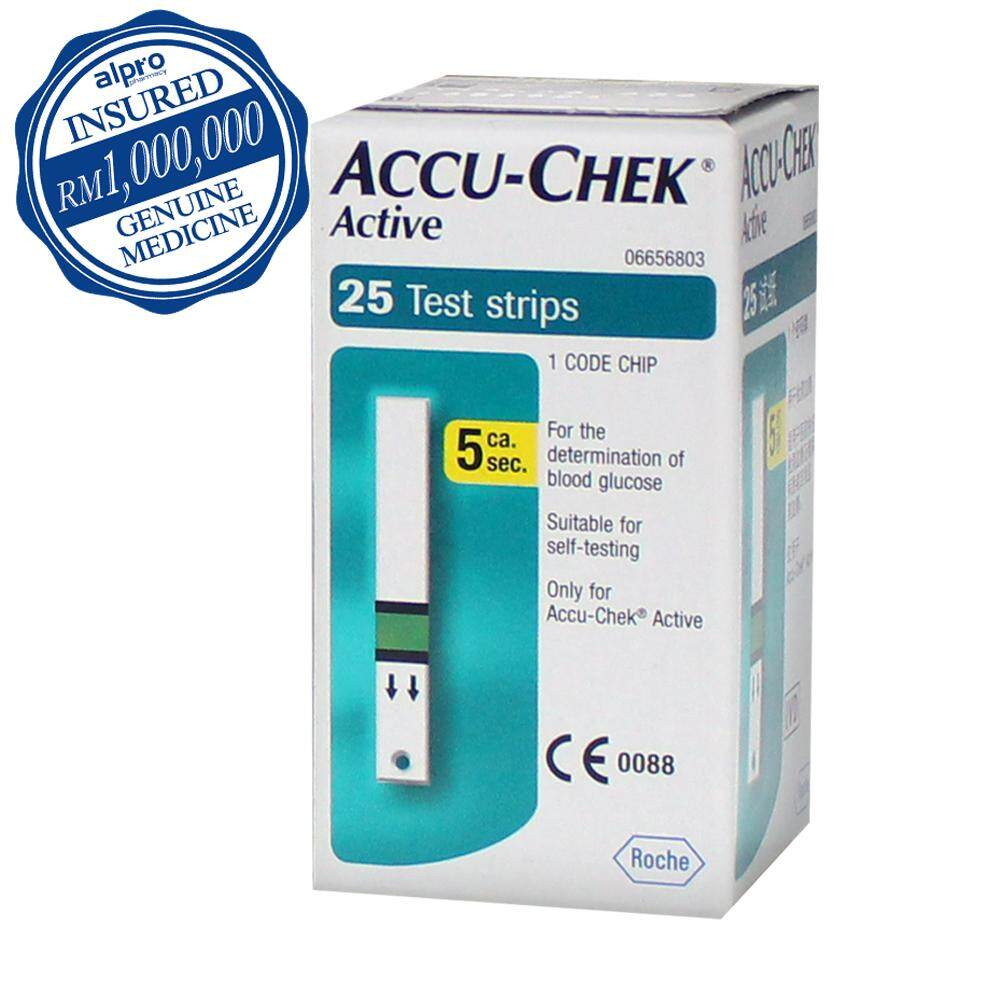 Blood Glucose Monitor Buy At Best Price In Easy Touch Test Strips Cholesterol Strip Tes Kolesterol Accu Chek Active 25s