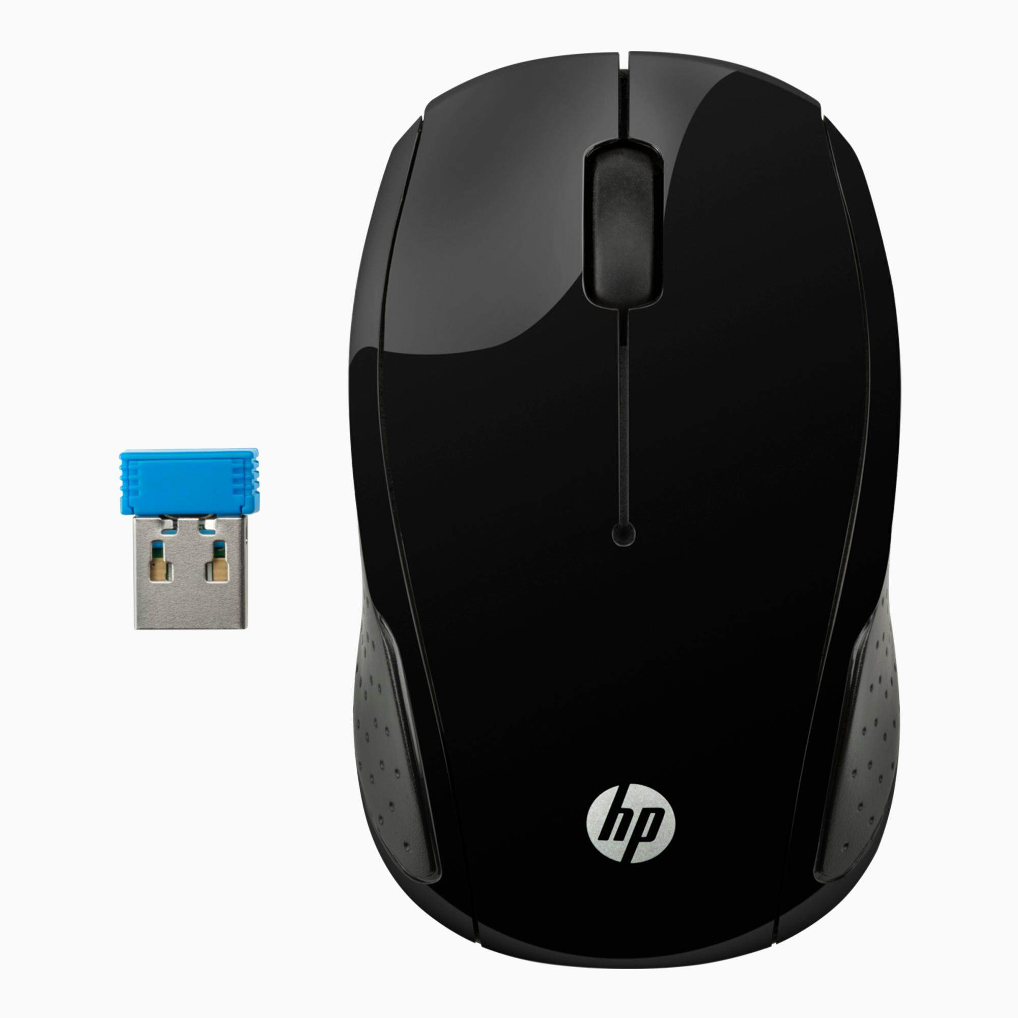 HP 200 WIRELESS MOUSE BLACK - (X6W31AA) Malaysia