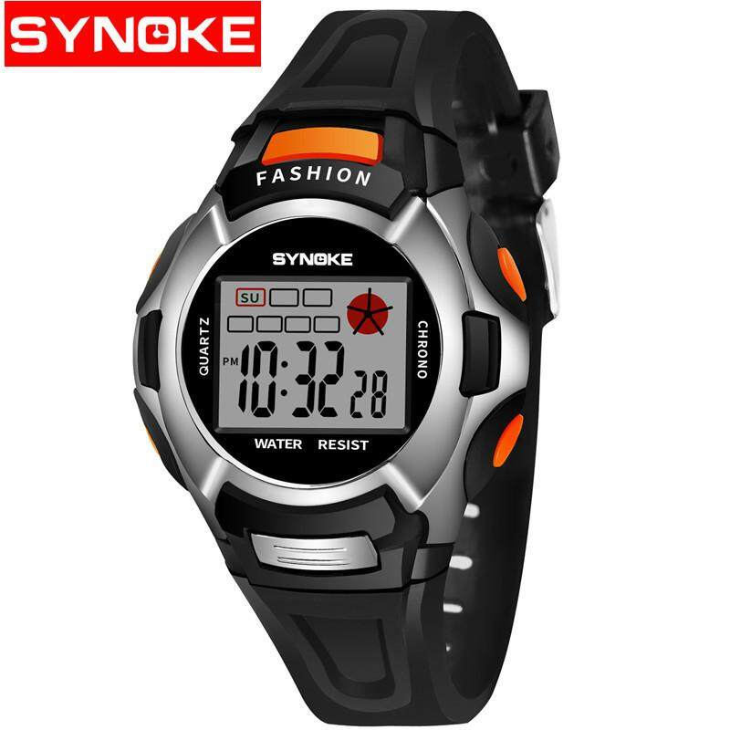 SYNOKE LED Digital Watch Children Girls Wrist Watch Kids Watches Boys Clock Child Sport Digital-watch for Girl Boy Surprise Gift 99329 Malaysia