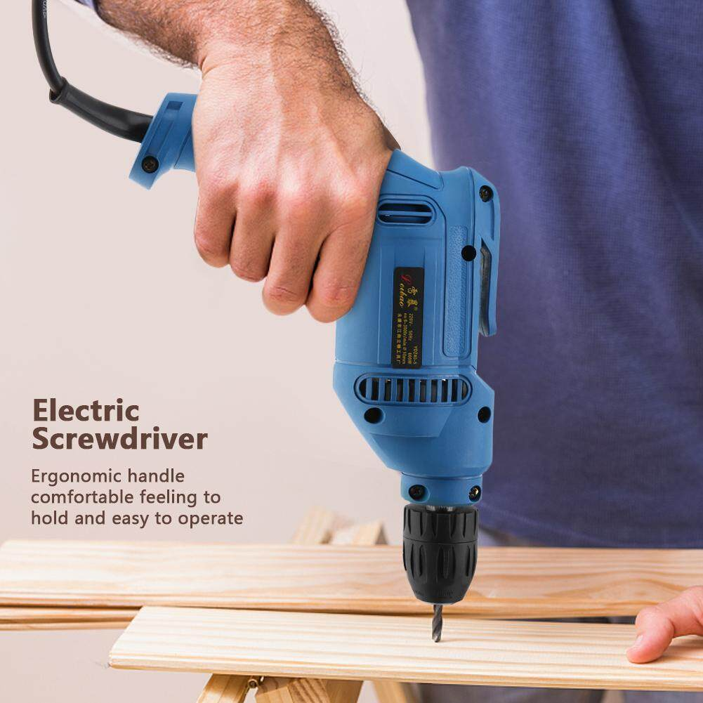 【Made in Italy 】Household Mini Multifunctional Handle CW/CCW Electric Screwdriver CN Plug 220V