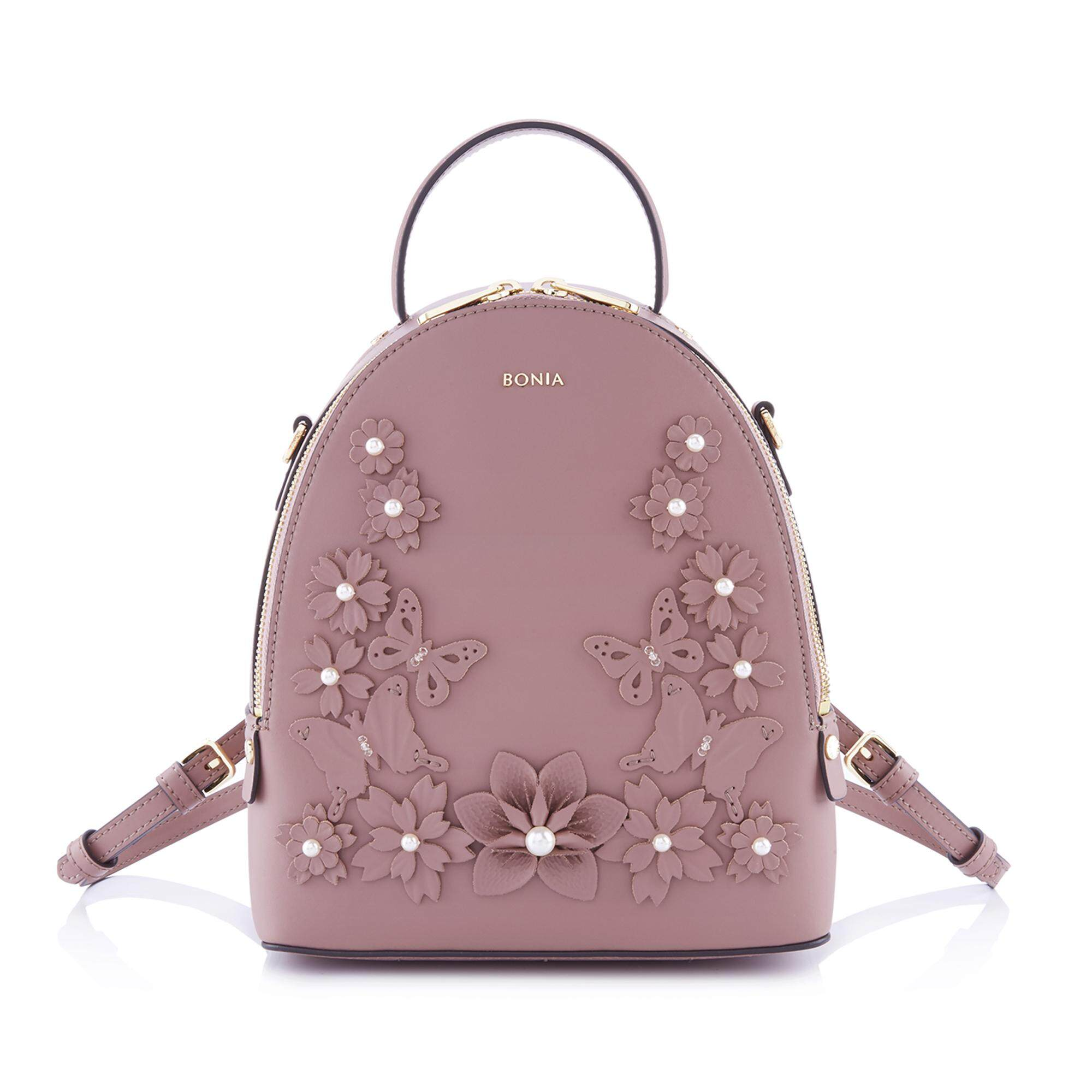 Bonia Orchid Royal Love Mini Backpack S