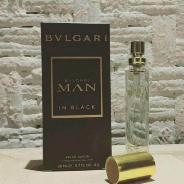 Bvlgarii Man In Black by Bvlgarii Eau De Parfum 20ml