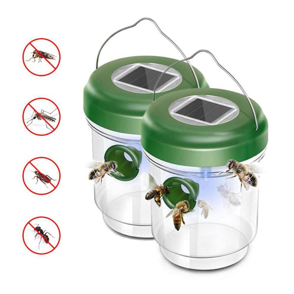 GoodGreat Fruit Fly Trap Solar LED Bee Traps Bee Catcher