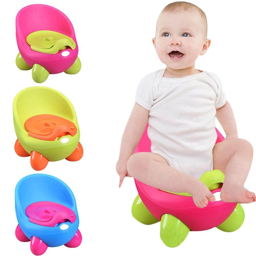 Portable Baby Potty Cartoon Pot Toilet Plastic Training Boy Girls Toilet Children Potty Seat