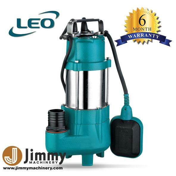 LEO SUBMERSIBLE WATER PUMP XSP8-7/0.18I 0.25HP