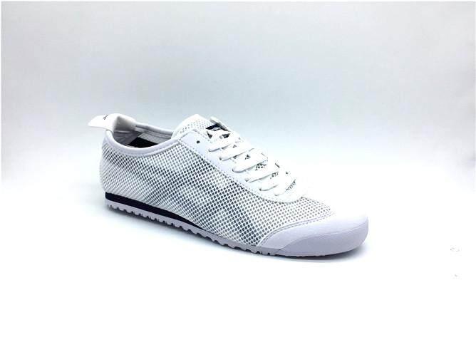 "half off 19fab 847f2 Fashion Brand Asic Official ""ONITSUKA Tigers"" White Black Sport MEN/WOMEN  Running Shoe MEXICO 66 Mesh"