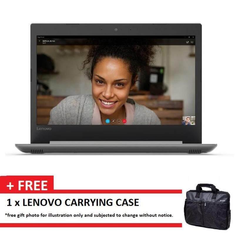 LENOVO IDEAPAD 330-14IKBR 81G2006XMJ GREY (I3-7020U/4GB/1TB/14/DVD/W10/1Y) + CASE Malaysia