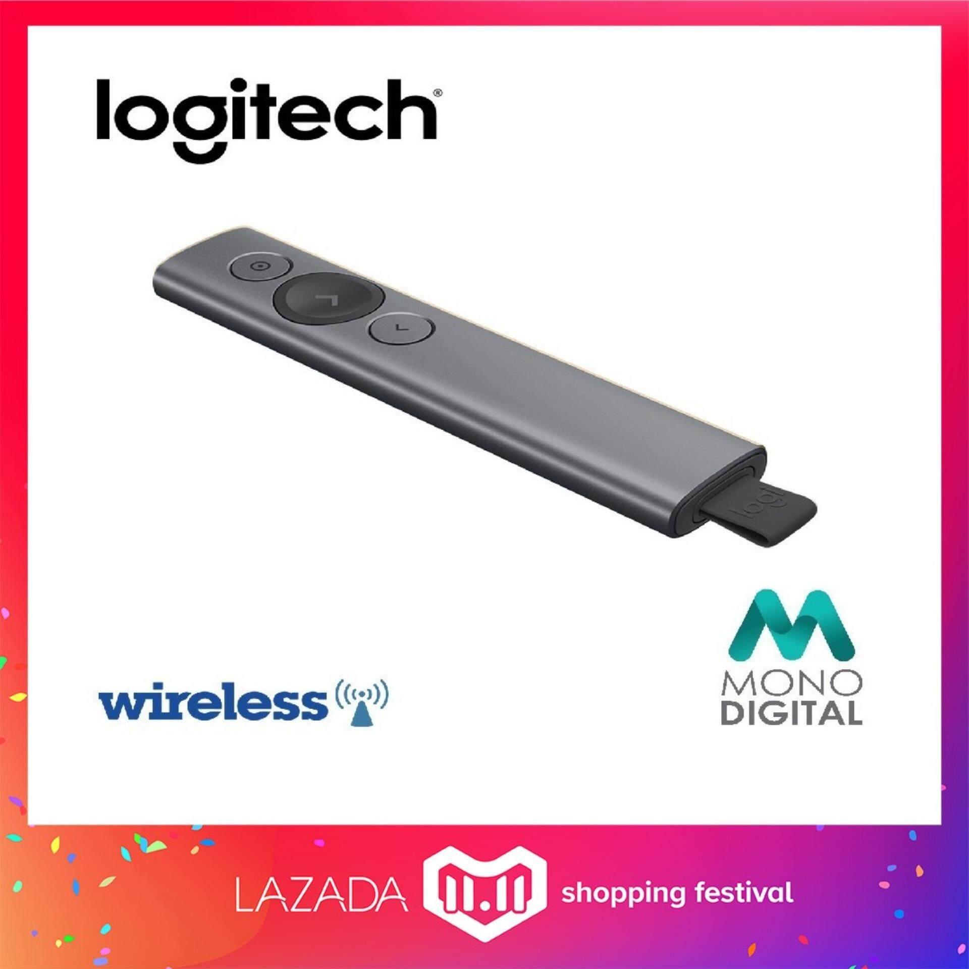 Logitech Spotlight Wireless Presentation Remote - Slate (910-004863) (Logitech Malaysia) Malaysia