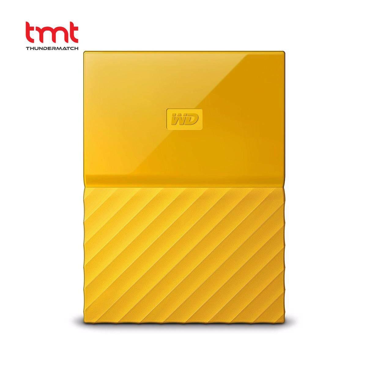 WD My Passport Lumen 4TB Portable Hard Disk USB 3.0 - Yellow