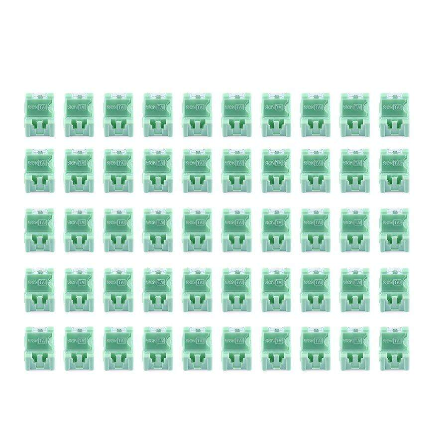 OBBB 50pcs Small Tool Screw Object Electronic Component Storage Box Laboratory Case SMT SMD Automatically Pops Up Patch Container