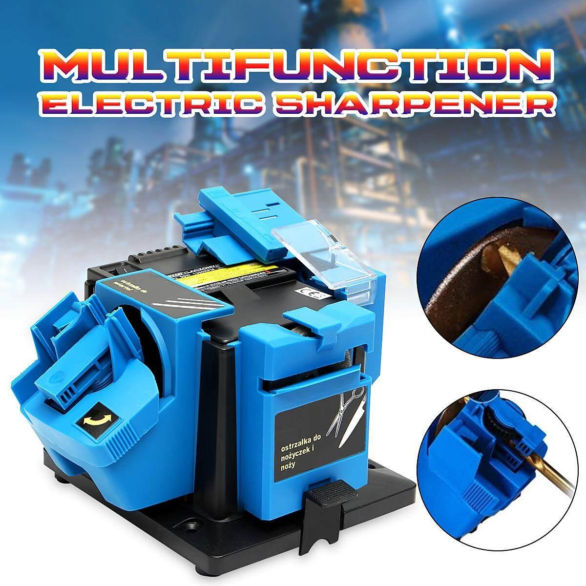 Electric Household Sharpener Tool Drill Bit Knife Scissor Sharpener Grinder