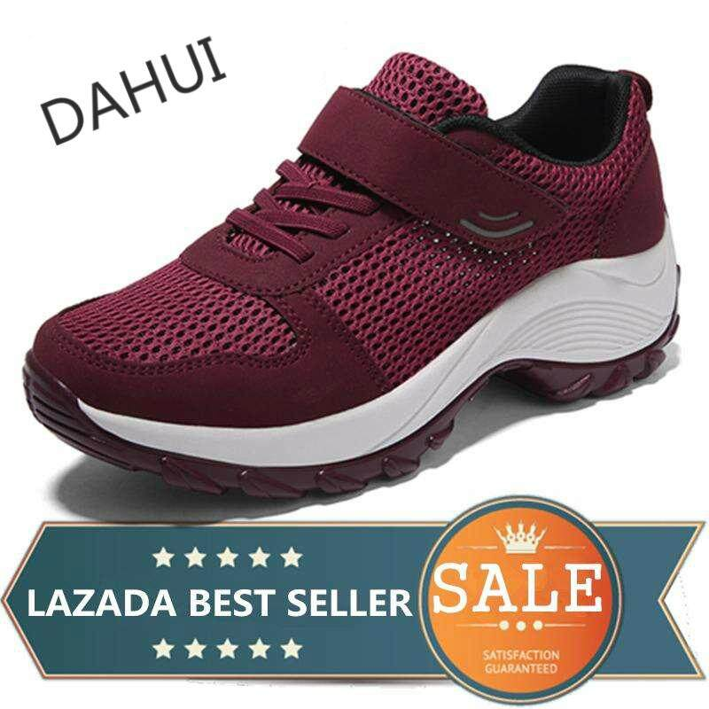 01f763a8cc87 Women s Shoes Sneakers Heighten Shoes Slip-On Casual Shoes Dance Sports  Shoes (Burgundy)