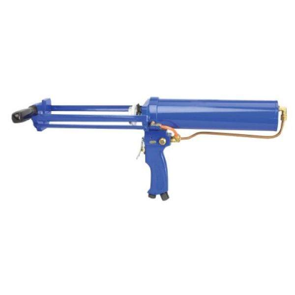 Wellmade Tools AG-251 Dual Cartridge Pneumatic Applicator with 2.5-Inch Cylinder, 300ml x 150ml