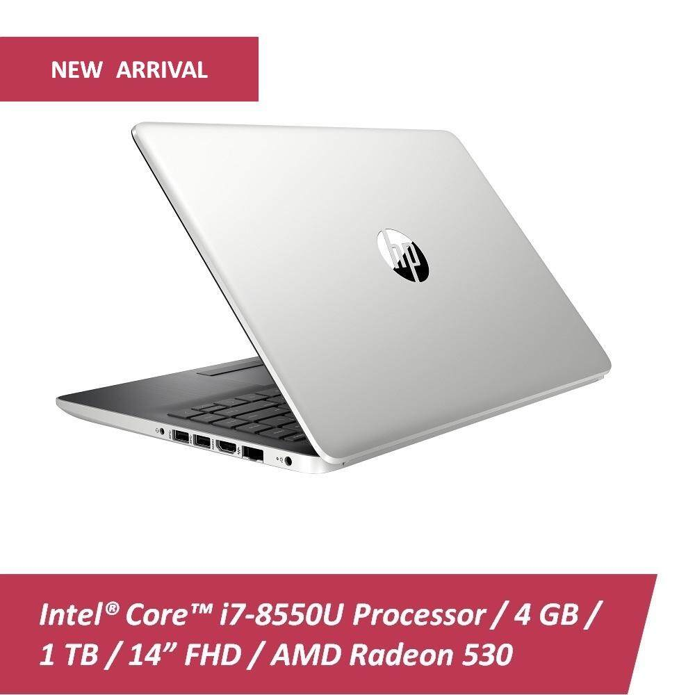 HP Laptop 14s-cf0043TX (Gold) /14s-cf0042TX (Silver) i7-8550U/4GB DDR4/1TB/No ODD/Win10/Radeon 530 2GB/2YR/BP Malaysia