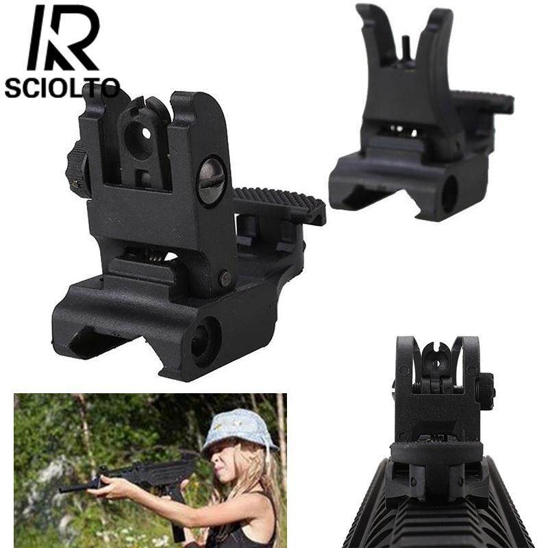 472e42124f7 SCIOLTO SPORTS Black Aiming Rule Sight Tactical Flip Outdoors Military