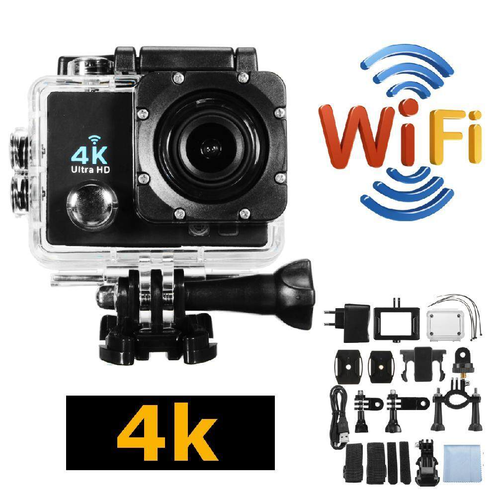 Costel 4K Ultra HD12MP 1080P Wifi APP Remote Control Sport Action Camera  Waterproof