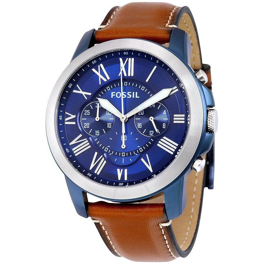 Fossil Me3140 Grant Sport Automatic Skeleton Dial Lugage Leather Men Watches Price In Malaysia Best Lazada Fs5151 Blue Chronograph Mens Watch