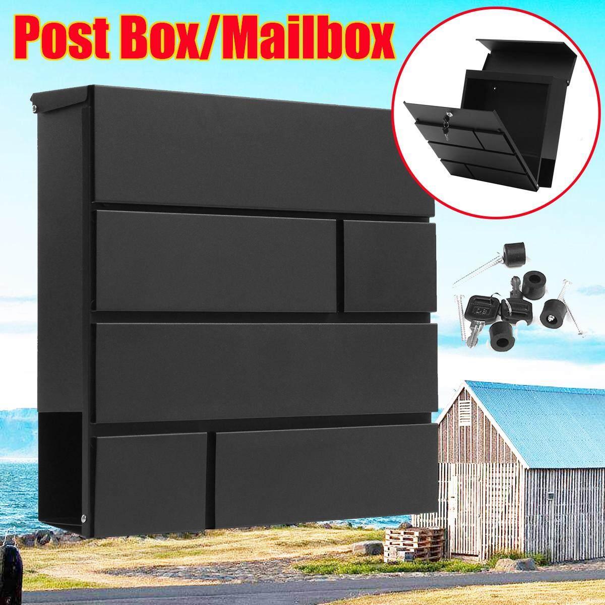 Designer mailbox V16 Postbox Anthracite newspaper box powder coated Postbox