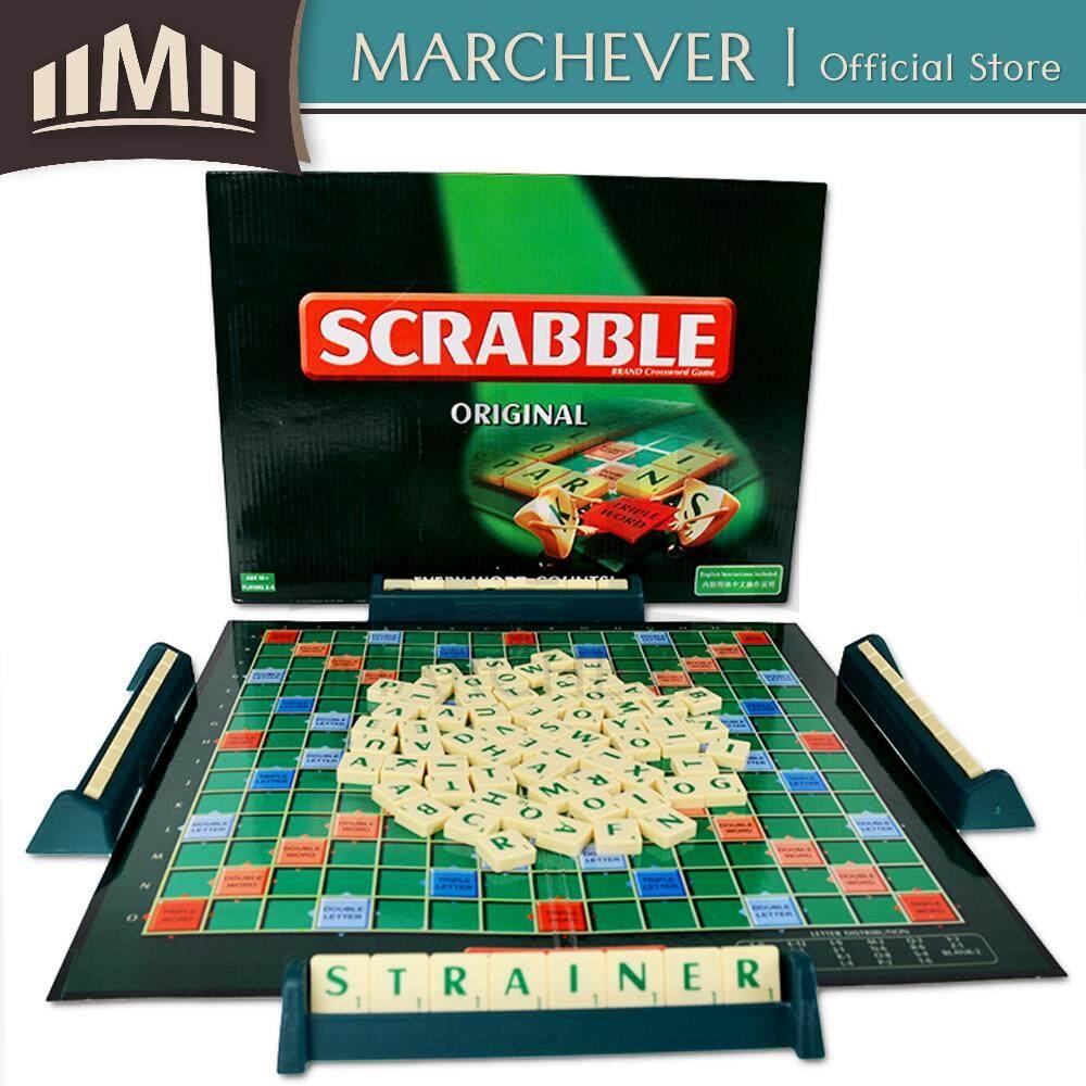 Scrabble Original Crossword Board Game Family Word Game