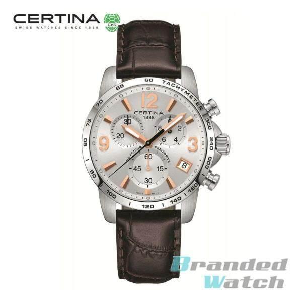 Certina C034.417.16.037.01 Mens DS Podium Precidrive Chronograph Leather Strap Watch Malaysia