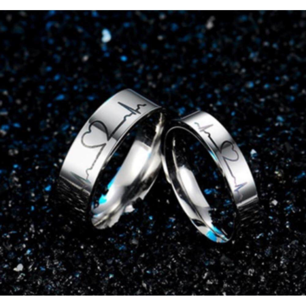 50660dd089 ... Material:Titanium Steel; Package Includes:1pc ring. Description: 100%  Brand New and High Quality. Product type: Unisex rings. Gender:Women,Men