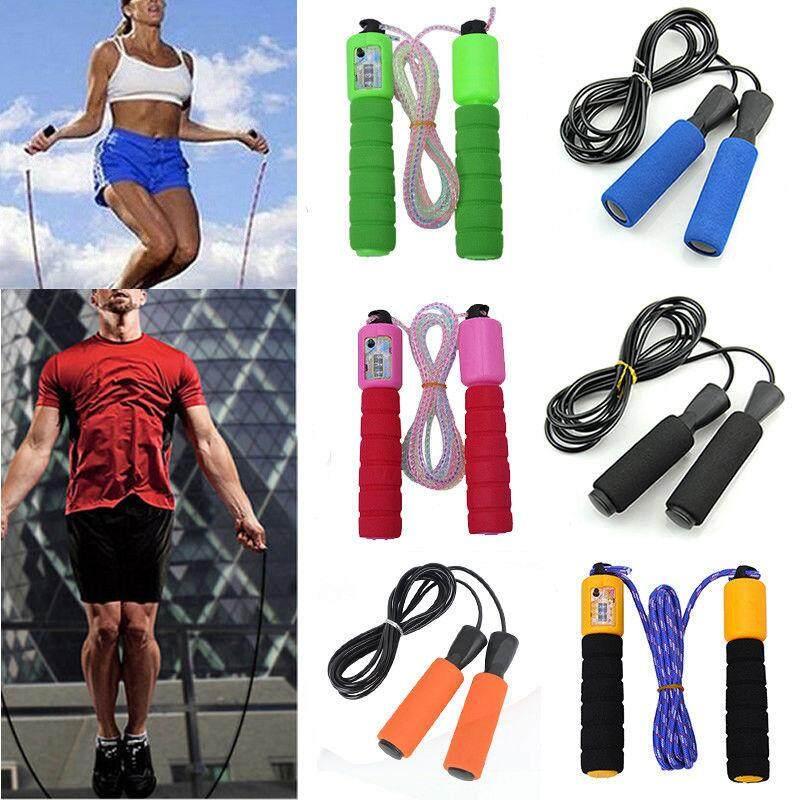 Steel Wire Speed Skipping Jump Rope Adjustable Crossfit Fitnesss