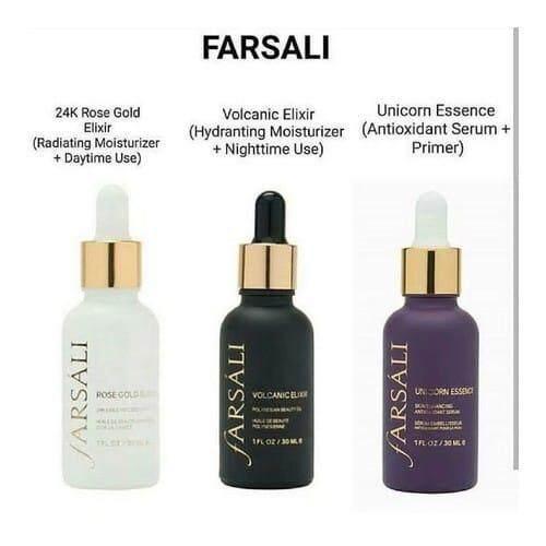 FARSALI 1 SET ( 3 BOTTLE) + FREE GIFT