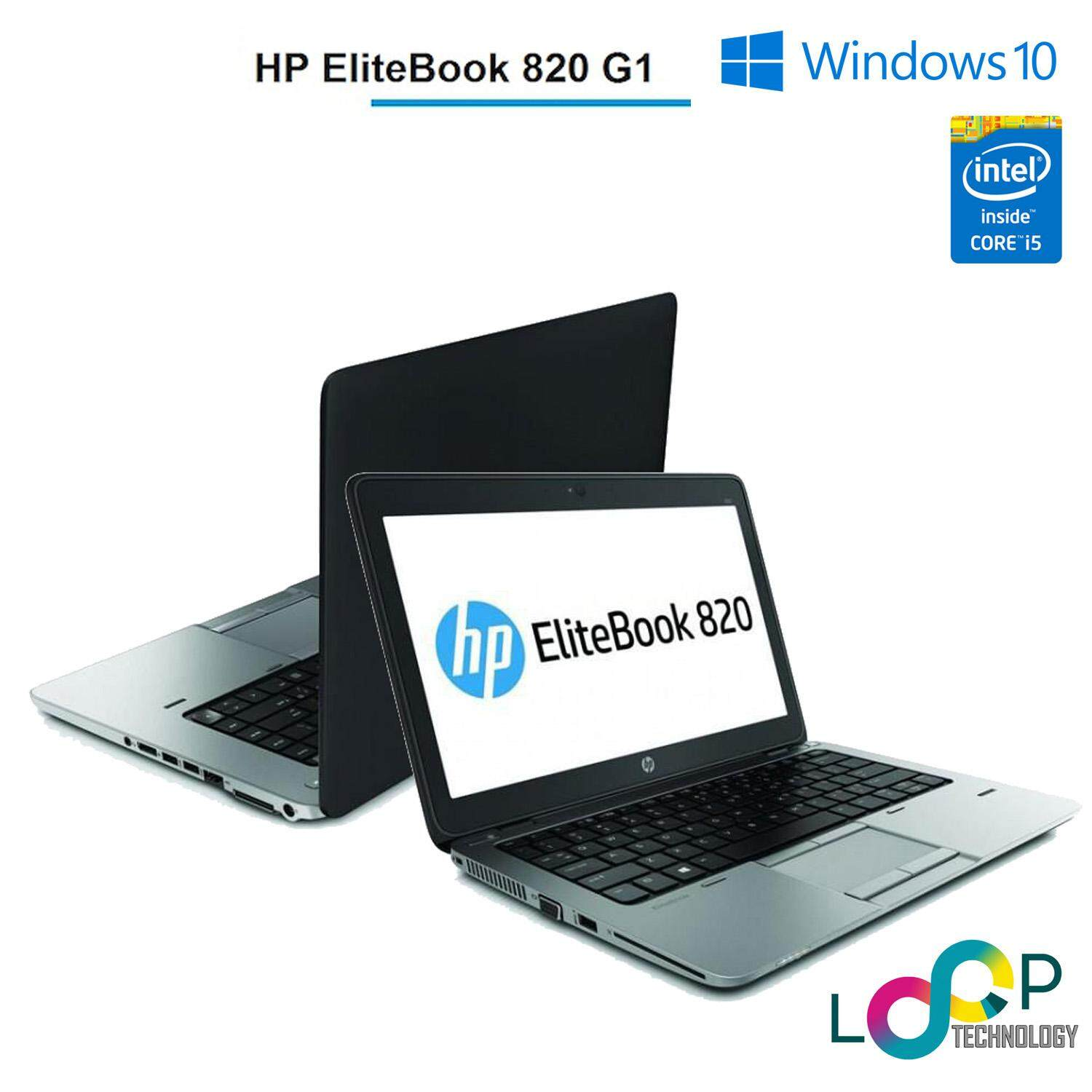 HP EliteBook 820 G1 - 12.5 - Core i5 -v-Pro 4300U - 4 GB RAM - 500 GB STORAGE (FACTORY REBUILD) Malaysia