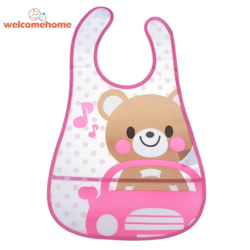 Cute Cartoon Baby Kids Bibs Waterproof Saliva Towel Feeding Bandana Apron(yellow) By Welcomehome.