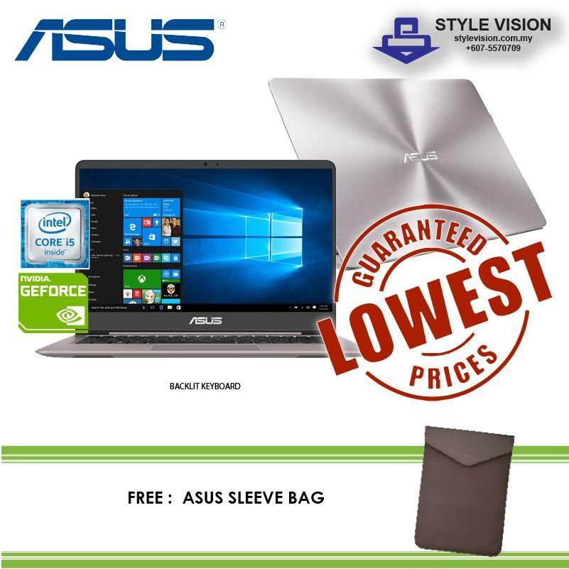 Asus Zenbook UX410U-QGV029T  i5-7200U  4GBDDR4  1TB  NV940MX-2GB  14FHD  W10 Malaysia