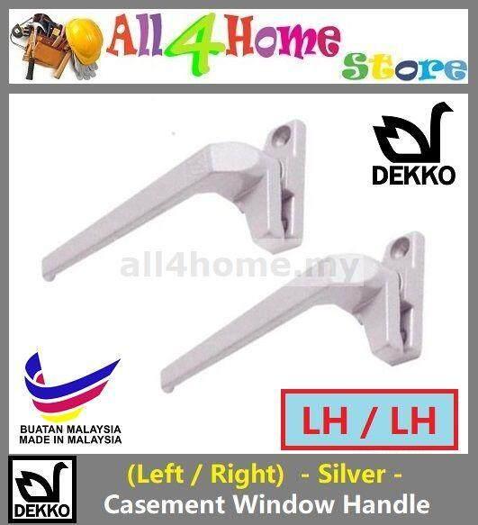 DEKKO Aluminium Casement Window Handle -Silver-