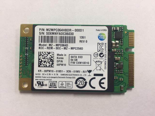 (Refurbished) Samsung PM830 64GB mSATA SSD Malaysia