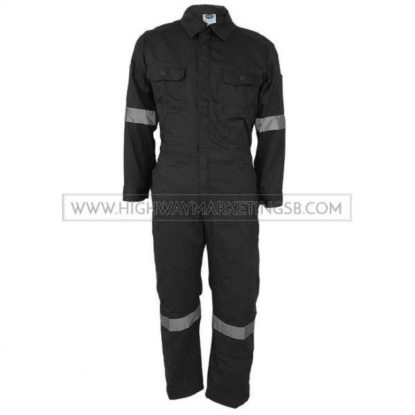 Supersonic Safety Reflective Coverall Grey Size 4XL