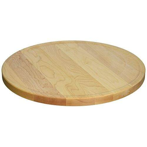 Snow River Usa 7v03388 Maple Hardwood Gourmet Lazy Susan, 13 Diameter .75 Thick By Cross Border.