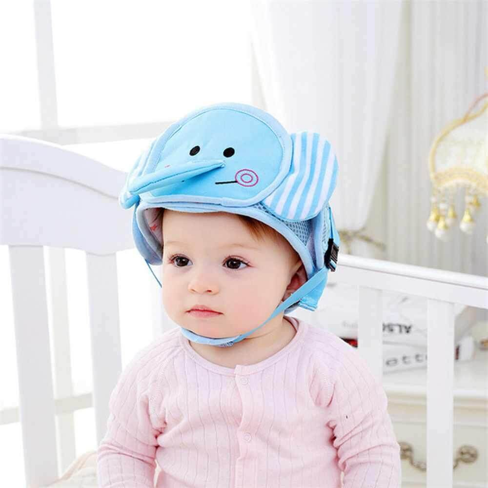 Bright Cute Cartoon Baby Infant Safety Helmet Protective Cap Hat Head Protection Headwear Edge Corner Guards For Children Kids Toddler Non-Ironing Safety Equipment Mother & Kids