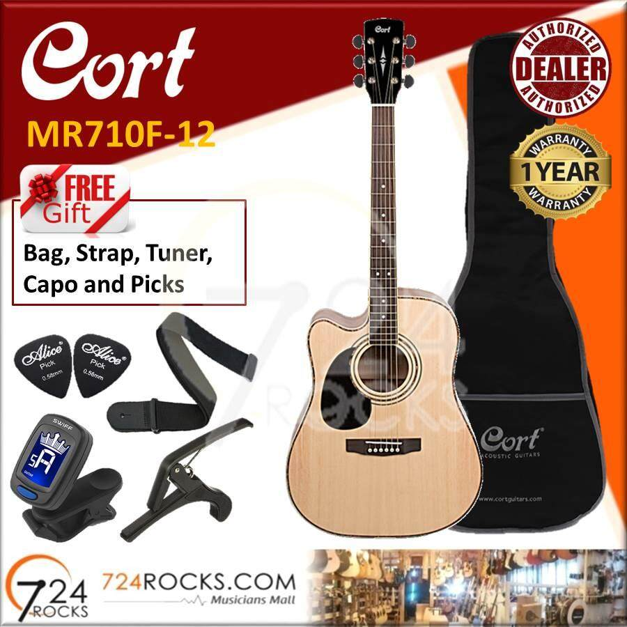 Best quality Cort AD880CE LH Left Handed Standard Series Acoustic Guitar With Pickup System (AD