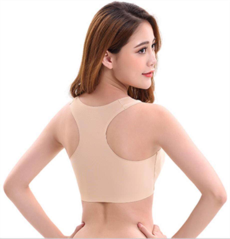Seamless Welt Yoga Back Exercises Ice Silk Underwear Padded Bra By Super Star Store.