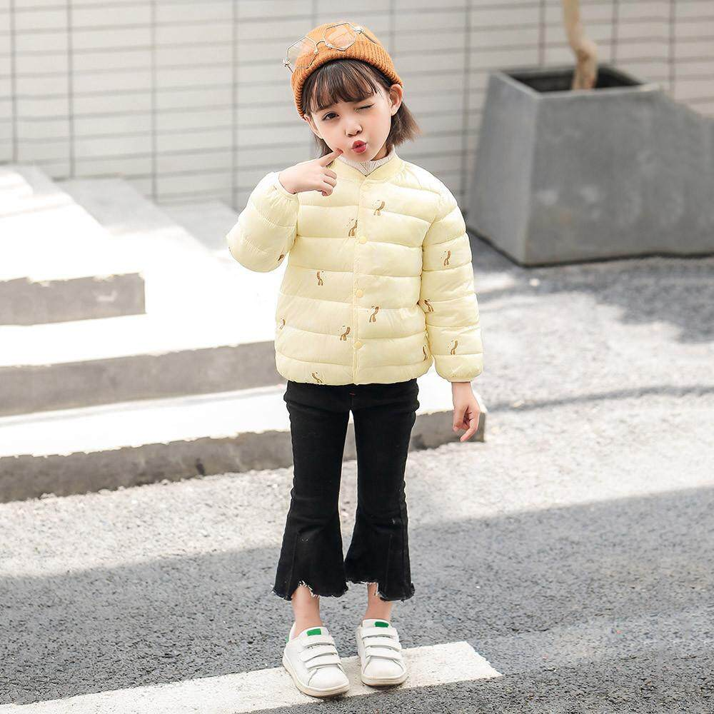 636254f0c9e8 Coats For Girls Kids Baby Winter Cartoon Print Coat Cloak Jacket Thick Warm Outerwear  Clothes